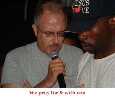 We pray for you